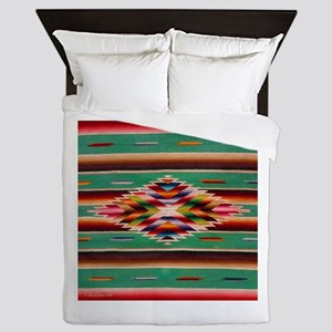 Southwest Indian Weaving Queen Duvet