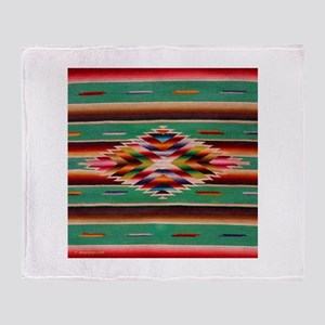 Southwest Indian Weaving Throw Blanket