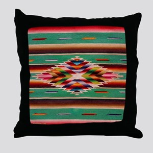 Southwest Indian Weaving Throw Pillow