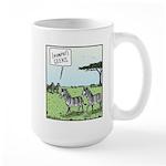 Zebra Geeks Large Mug
