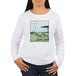 Zebra Geeks Women's Long Sleeve T-Shirt