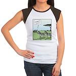 Zebra Geeks Women's Cap Sleeve T-Shirt
