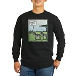 Zebra Geeks Long Sleeve Dark T-Shirt