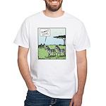 Zebra Geeks White T-Shirt