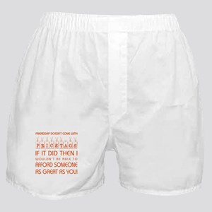 PRICE TAGS (RED) Boxer Shorts