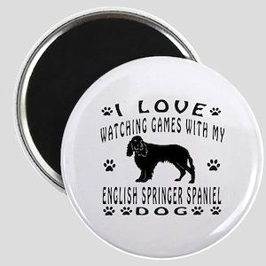 English Springer Spaniel design Magnet