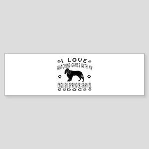English Springer Spaniel design Sticker (Bumper)