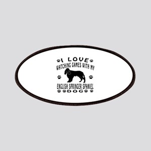 English Springer Spaniel design Patches