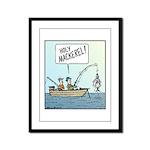 Holy Mackerel! Framed Panel Print