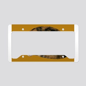 Callico Napping License Plate Holder