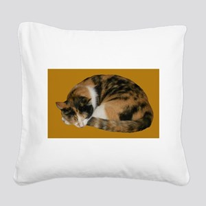 Callico Napping Square Canvas Pillow