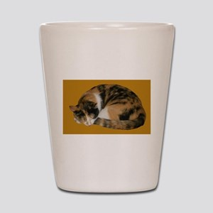 Callico Napping Shot Glass
