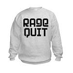 RAGE QUIT! Kids Sweatshirt