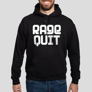 RAGE QUIT! Hoodie (dark)