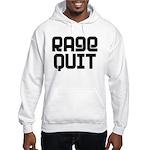 RAGE QUIT! Hooded Sweatshirt
