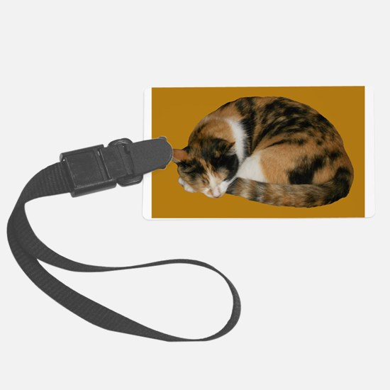 Callico Napping Luggage Tag