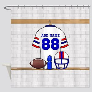 Personalized American Football Grid Iron WRB Showe