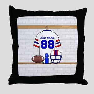 Personalized American Football Grid Iron WRB Throw