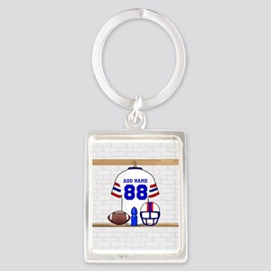 Personalized American Football Grid Iron WRB Portr