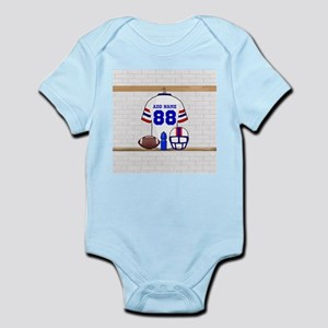 Personalized American Football Grid Iron WRB Infan