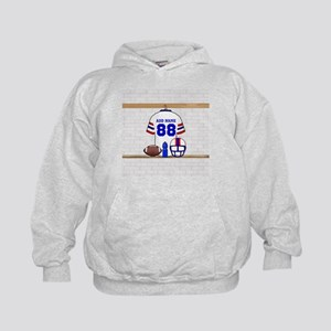 Personalized American Football Grid Iron WRB Kids