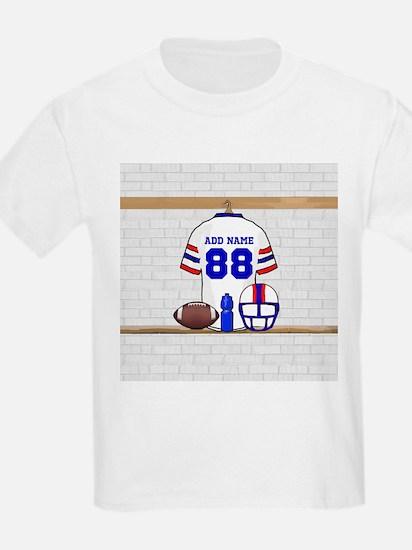 Personalized American Football Grid Iron WRB T-Shirt