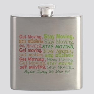 physical therapy will move you blanket 2 Flask