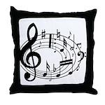 BASS (Speaker) Throw Pillow