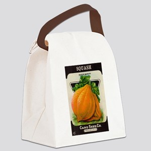 Squash Canvas Lunch Bag