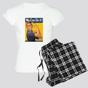 Rosie the Riveter Women's Light Pajamas
