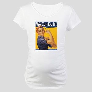 Rosie the Riveter Maternity T-Shirt