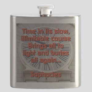 Time In Its Slow - Sophocles Flask