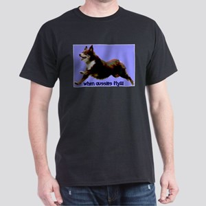 When Aussies Fly Dark T-Shirt
