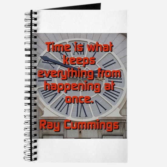 Time Is What Keeps Everything - Ray Cummings Journ