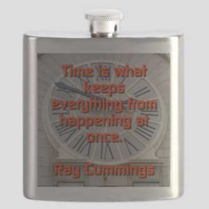 Time Is What Keeps Everything - Ray Cummings Flask
