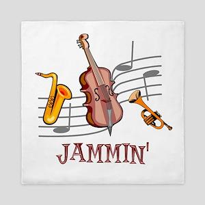 Jammin Jazz Queen Duvet