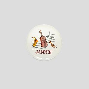Jammin Jazz Mini Button