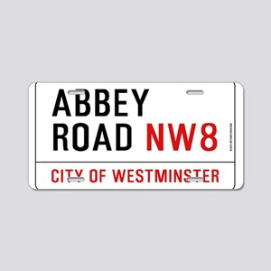 Abbey Road NW8 Aluminum License Plate