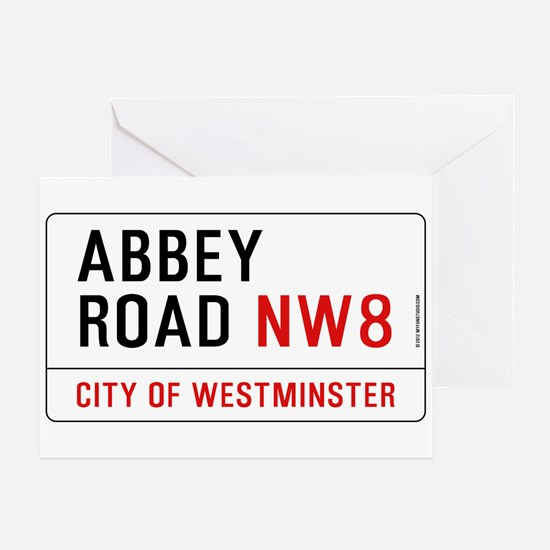 Abbey Road NW8 Greeting Card