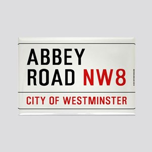 Abbey Road NW8 Rectangle Magnet