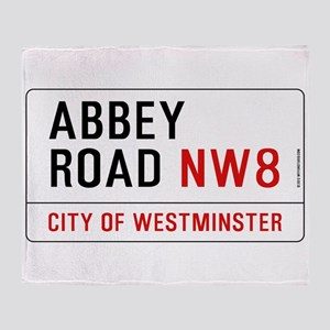 Abbey Road NW8 Throw Blanket
