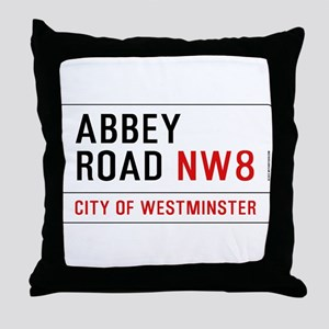 Abbey Road NW8 Throw Pillow