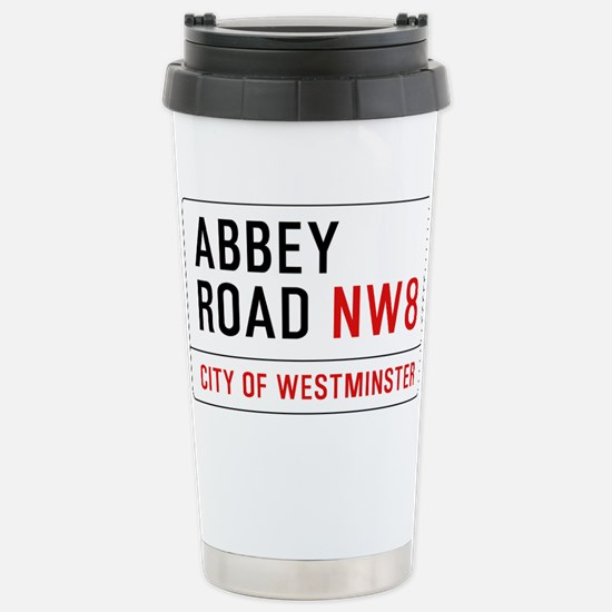 Abbey Road NW8 Stainless Steel Travel Mug
