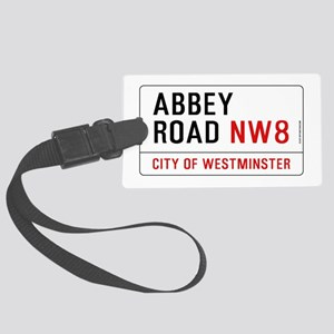 Abbey Road NW8 Large Luggage Tag