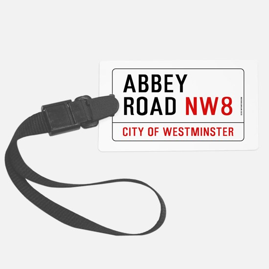 Abbey Road NW8 Luggage Tag
