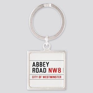Abbey Road NW8 Square Keychain