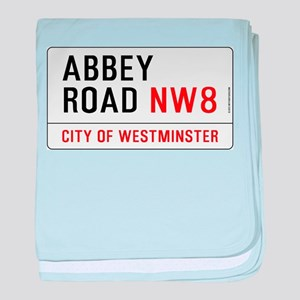 Abbey Road NW8 baby blanket