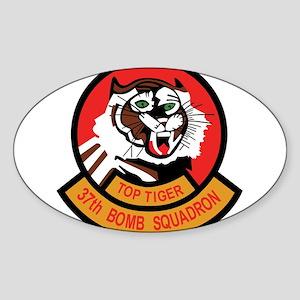 37th Bomb Squadron us Sticker (Oval)
