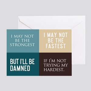 I May Not Be The Strongest Greeting Card