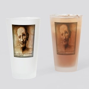 William S. Burroughs Drinking Glass
